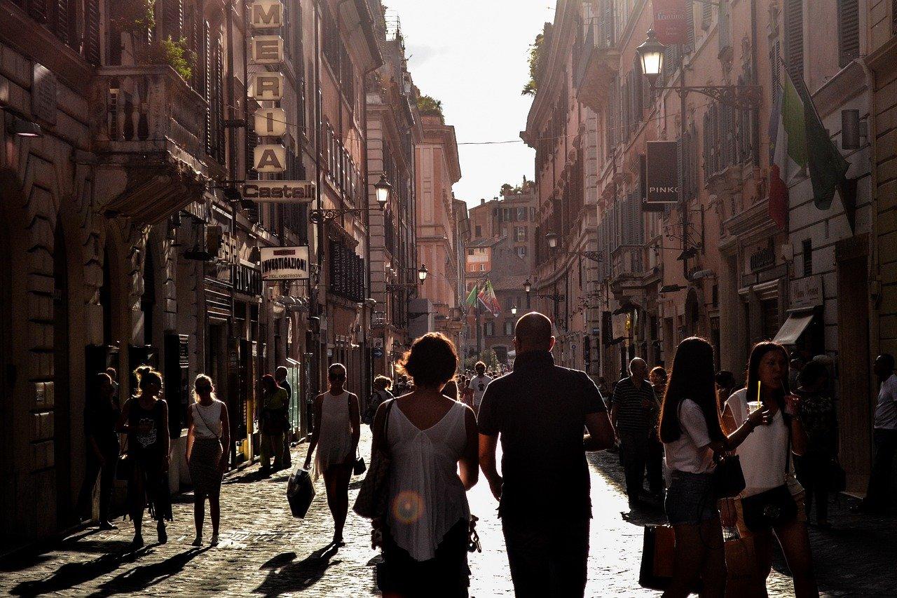 Gruppenreisen nach Rom in COVID-19-Zeiten.