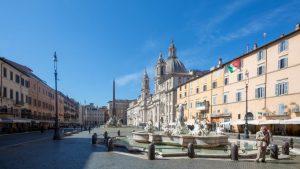 Piazza Navona in Rom (Italien). Bild von Bernhard Gemassmer